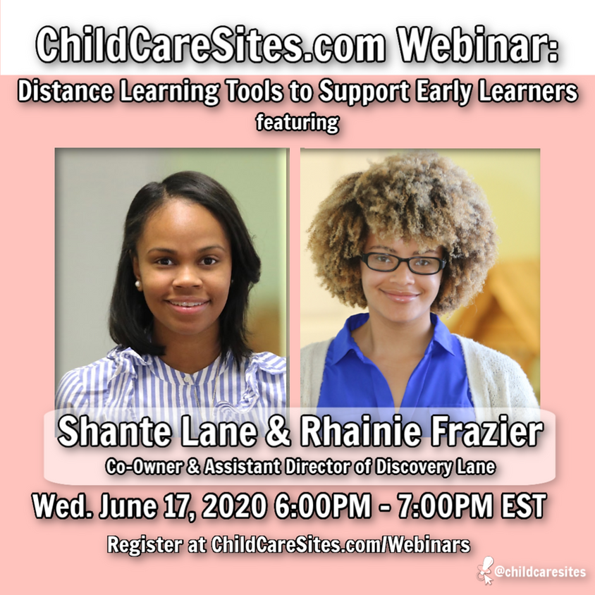 Webinar: Distance Learning Tools To Support Early Childhood Learners