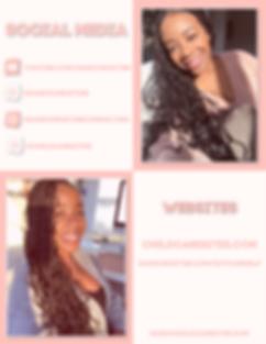 Dani Christine Media Kit Resources Page.