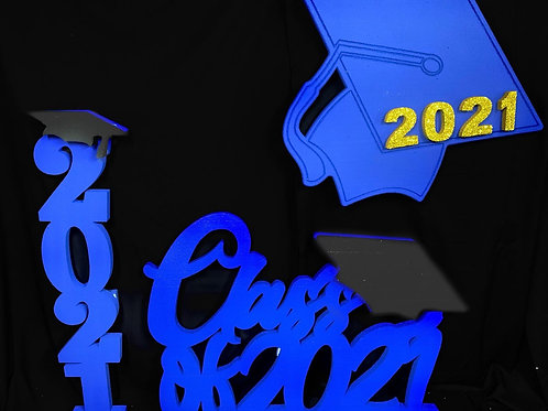 Decoraciones Graduación (Azul Royal)