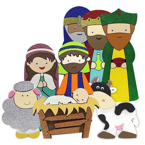 Natividad Regular (8 piezas)