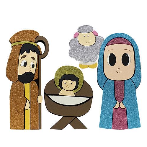 Nacimiento Ojones (4 piezas)
