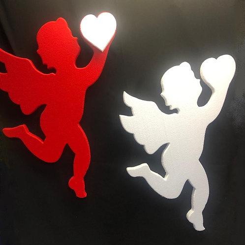 Cupido con el Corazón