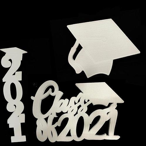 Decoraciones Graduación (Sin Pintar)