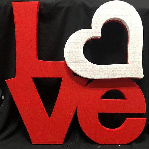 Love 4' x 4'