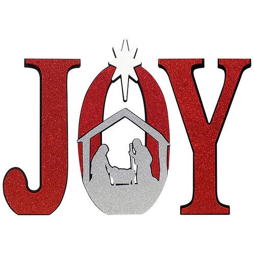 JOY Rojo con Nacimiento