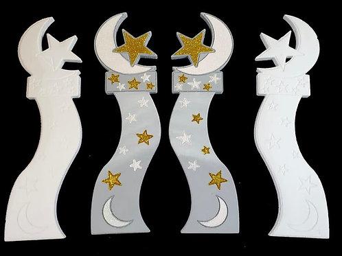 Set de Torres Graduación (Luna y estrellas)