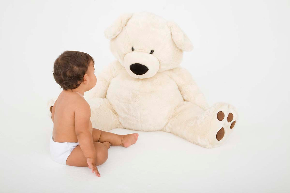 bebê com fralda