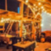 Inside of Bob's Wood Shop 100 yr old barn