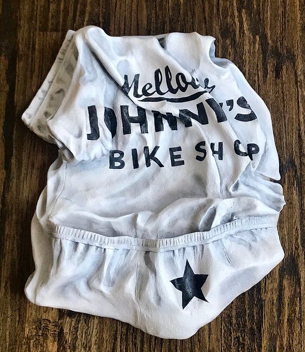 Wood Carved Mellow Johnny Bike Jersey