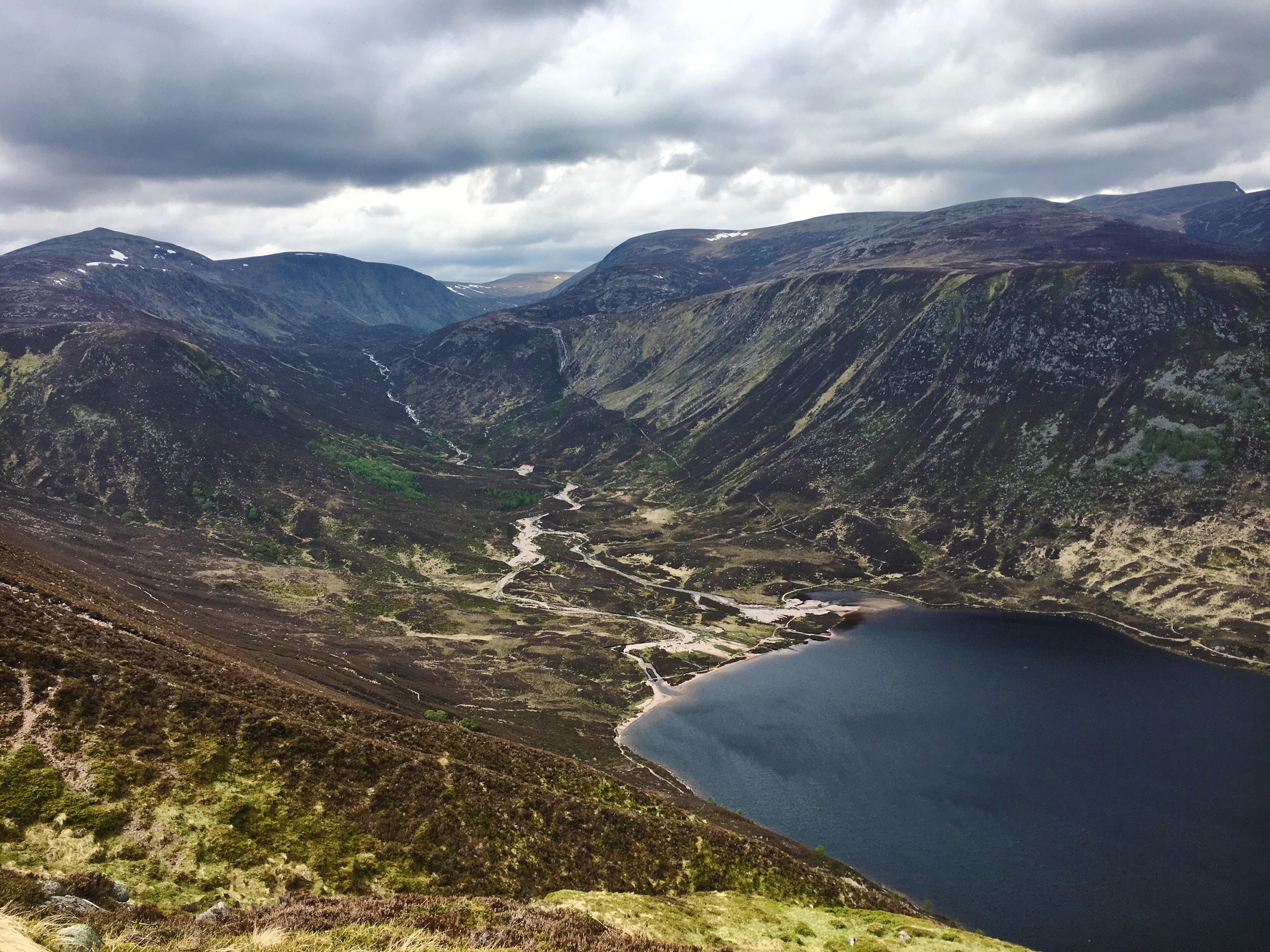 Lochnagar Munro circuit, 2018