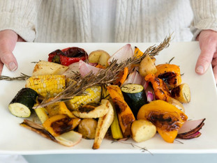 Medley of Seasonal Roasted Vegetables