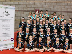 Gymnasts Hold Their Own At Club's Largest Event To Date