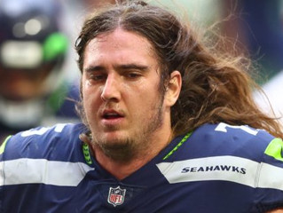 Seahawks tackle Chad Wheeler makes bail after domestic violence allegations on black girlfriend