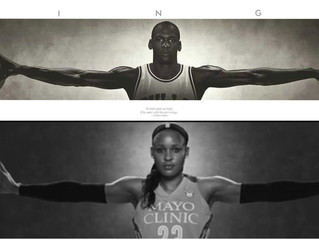 "The Jordan Brand, Minneapolis in discussion for permanent Maya Moore ""Wings'' billboard"