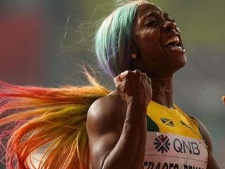 Shelly-Ann Fraser-Pryce crowned the fastest woman in the world ... not that many fans saw it