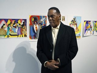 Man exonerated after 45 years sells his prison art to support himself