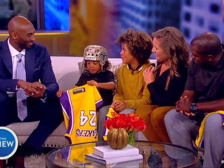 Kobe Bryant Surprises Bryson Thompson, 6-Year Old with Epilepsy, on 'The View'