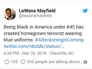 Councilwoman LaWana Mayfield fires back at critics of tweet comparing police to terrorists