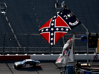 NASCAR says it is prohibiting the display of the Confederate flag at events