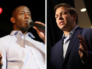 Andrew Gillum, Ron DeSantis Florida governor's race appears headed to a recount