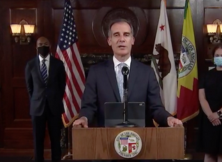 Los Angeles Mayor Eric Garcetti Cutting $100 Million-$150 Million From LAPD Budget