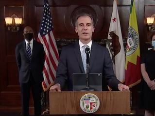 Los Angeles Mayor Eric Garcetti Cutting $100 Million-$150 Million From LAPD Budget