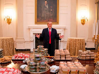 Fast food once again served at White House sports event with Trump
