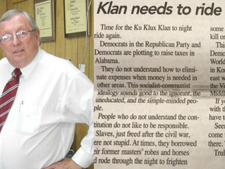 Alabama newspaper editor stripped of honor after calling for KKK to 'clean out DC'