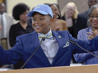 11-year-old receives full scholarship to Southern University