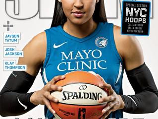 Maya Moore Graces SLAM Cover