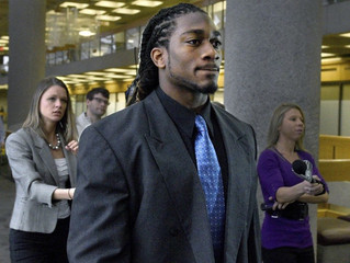 A.J. Johnson found not Guilty of rape signed by Broncos