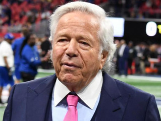 New England Patriots owner Robert Kraft charge with soliciting sex, police say