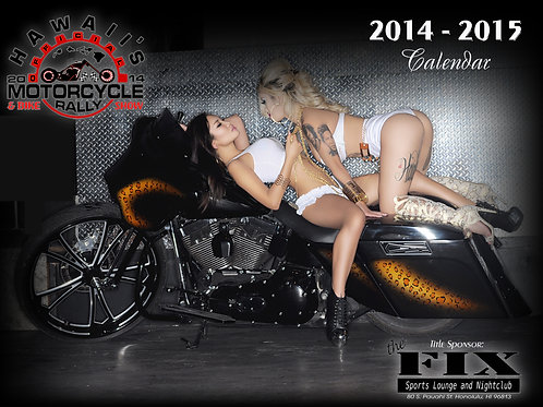 2014 Hawaii Motorcycle Rally & Bike Show Calendar