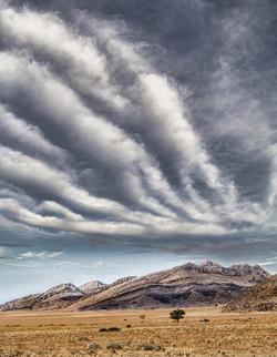 big sky in Namibia