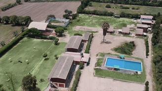 Foto aérea 2 del campamento BCM Perú