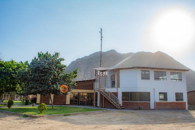 Frontis del campamento, BCM Perú.