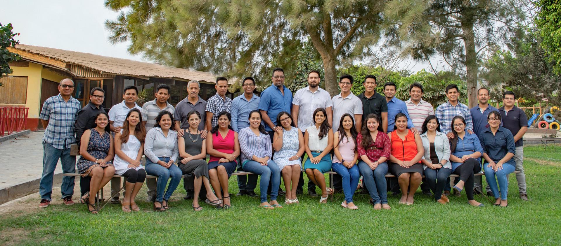 Misioneros de BCM Perú