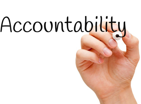 Being Held Accountable