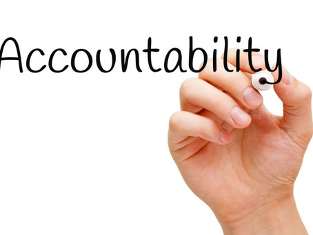 Being Held Accountable
