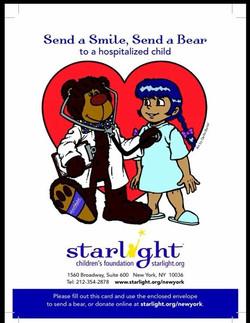 Starlight Postcard design.
