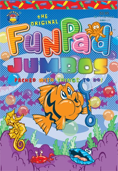 Funpad Jumbo Book Cover