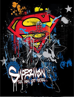 SUPERMAN URBAN WALL