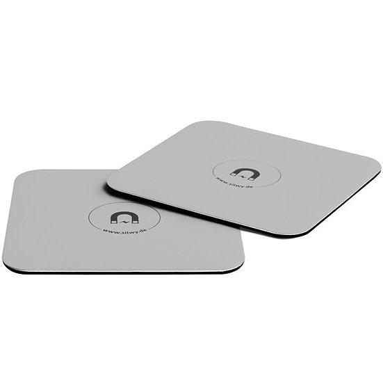 Metall-Untersetzer für Magnetgläser