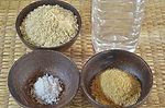 Ingredients (Basic) for homemade probiotics