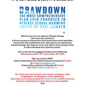 Drawdown EcoChallenge Online