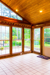 Gorgeous sun room in Trent Woods home