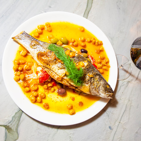 Fancy Fish Dinner