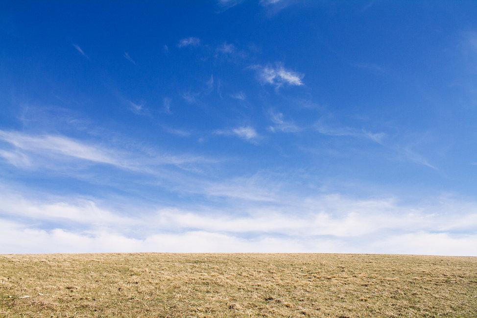 Landscape of Max Patch along the Appalahian Trail in Norh Carolina
