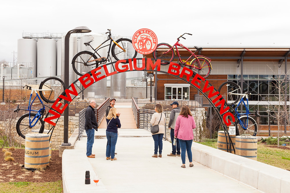 New Belgium Brewing Bicycle Archway
