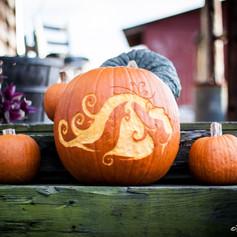 Mother Earth Halloween Pumpkin